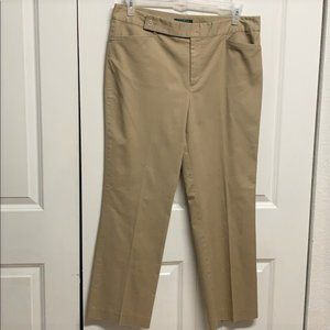 Ralph Lauren Khaki Pants Size 14P Tan